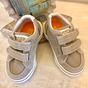 Toddler Boys Sperry sneakers size 5 w in EUC